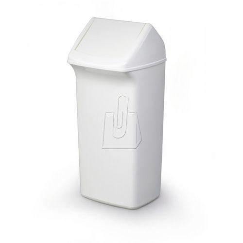 Pojemnik na śmieci Durabin Flip 40L z pokrywą Durable 1809798010 biały, 110196