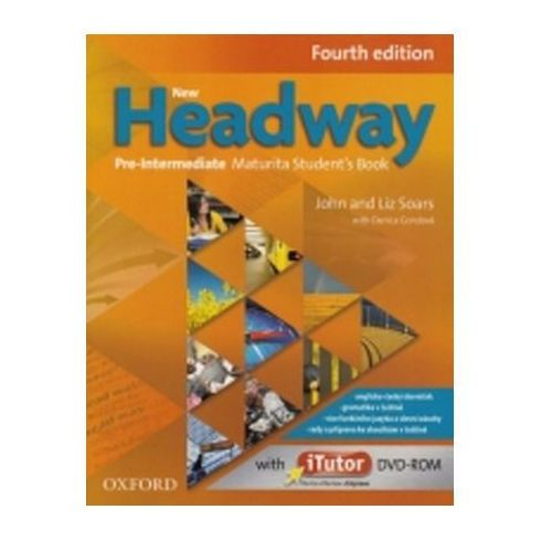 New Headway Fourth Edition Pre - Intermediate Maturita Student´s Book + Itutor Dvd Cz, Soars John And Liz