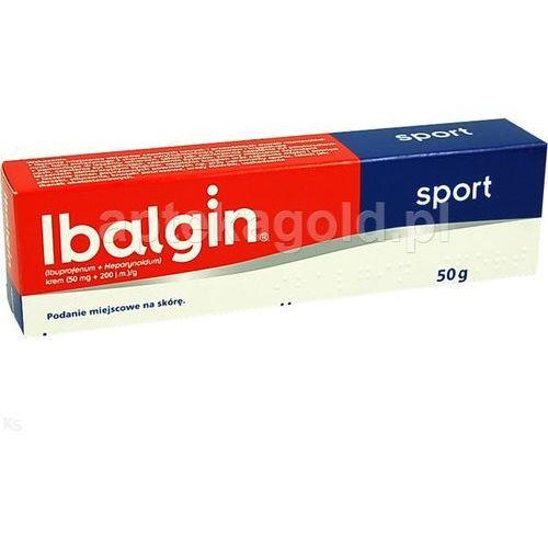 Ibalgin Sport krem x 50g, produkt z kategorii- Maści i żele przeciwbólowe