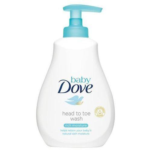 Dove Baby Emulsja do mycia ciała i włosów Rich Moisture 200 ml