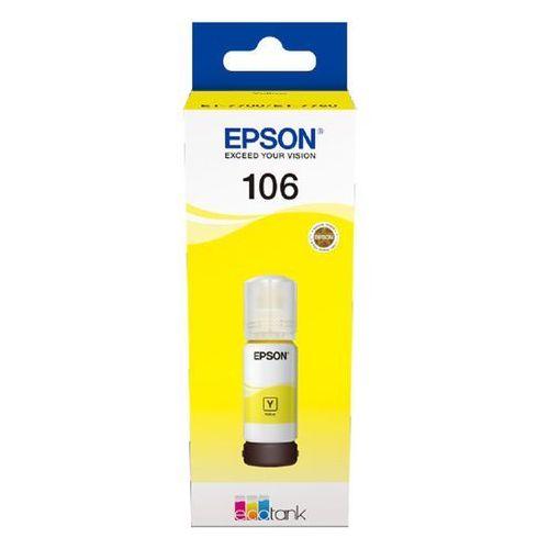 Epson tusz yellow 106, c13t00r440