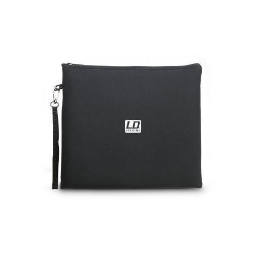 Ld systems mic bag xl uniwersalna torba na mikrofony, 300x300mm