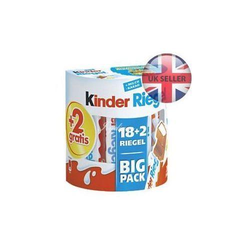 riegel batoniki big pack 18+2 marki Kinder