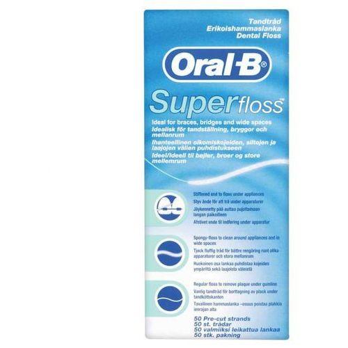 ORAL B nić dentystyczna SUPER FLOSS 50 odcinków (4103330017369)