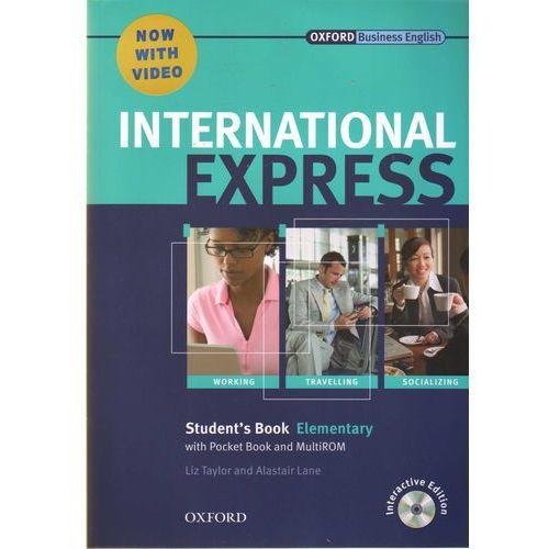 International Express Elementary SB Pack (DVD-ROM) - Liz Taylor, Adrian Wallwork (112 str.)