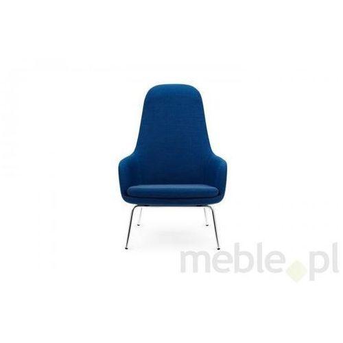 Fotel Era Chromowy z Wysokim Oparciem gabriel-breeze fusion Normann Copenhagen 602862 - sprawdź w Meble.pl