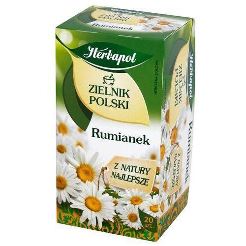 HERBAPOL 20x1,5g Zielnik Polski Rumianek Herbata ziołowa