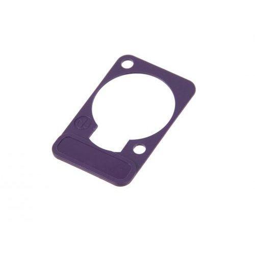 dss 7 szyld do opisu złącz tablicowych typu ″d″ (fioletowy) marki Neutrik