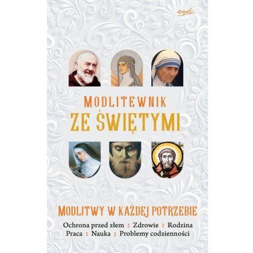 Modlitewnik ze świętymi. modlitwy w każdej potrzebie marki Produkt polski