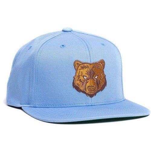 czapka z daszkiem GRIZZLY - Park Visitor Snapback Light Blue (LTBL)