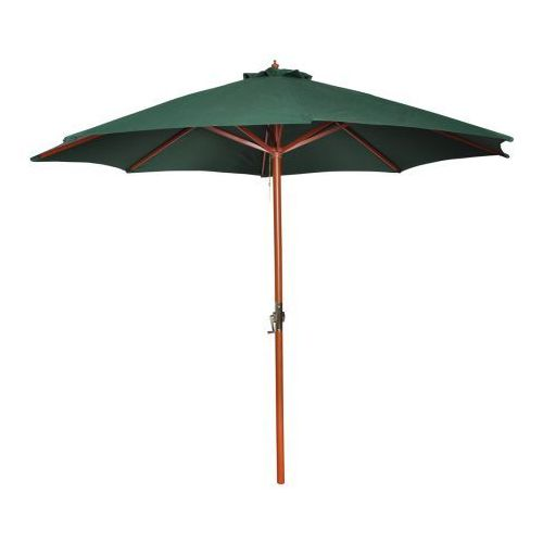 Parasol przeciwsłoneczny w kolorze zielonym o wysokości 258 cm. - sprawdź w VidaXL