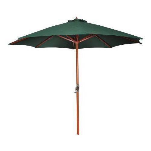 Parasol przeciwsłoneczny w kolorze zielonym o wysokości 258 cm., vidaXL z VidaXL