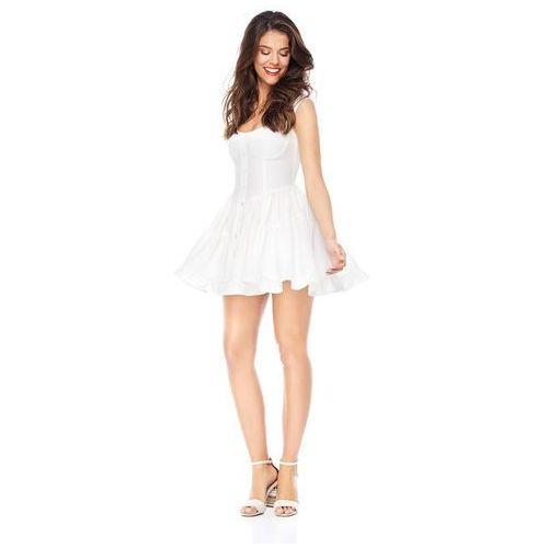 Sukienka Costa Calma w kolorze białym, 1 rozmiar