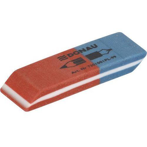 Donau Gumka wielofunkcyjna , 57x19x8mm, niebiesko-czerwona (5901498021933)