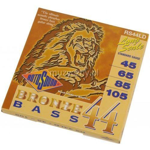 Rotosound rs44ld bronze bass 44 45-105 struny do gitary basowej akustycznej