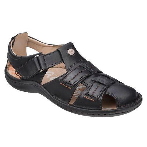 Półbuty Sandały KRISBUT 1108A-1-1 Czarne - Czarny