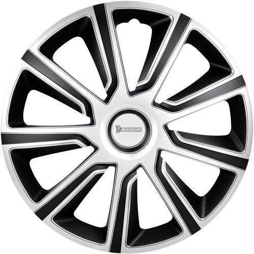 Kołpaki  92013, R14, 4 szt., Srebrny czarny, produkt marki Michelin