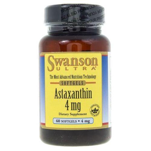 Kapsułki Swanson Astaxanthin (Astaksantyna) 4 mg - 60 kapsułek