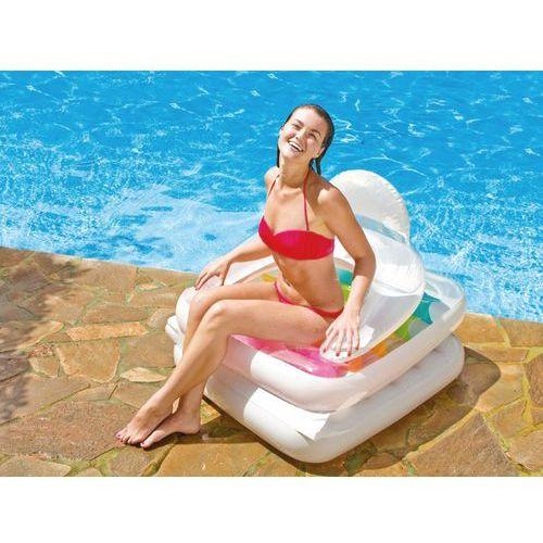 Intex 2w1 fotel leżanka materac plażowy 58847