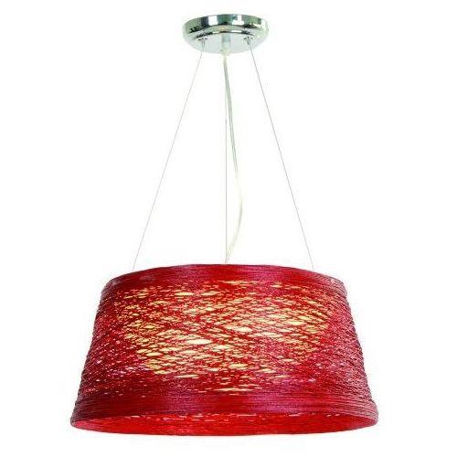 Lampa wisząca fragola 1 lp-80065/1p czerwony + darmowy transport! marki Light prestige