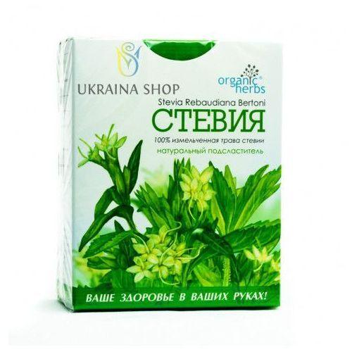 Stewia (stevia), liść stewii, słodzik, cukrzyca, 50g/ organic herbs marki Fbt