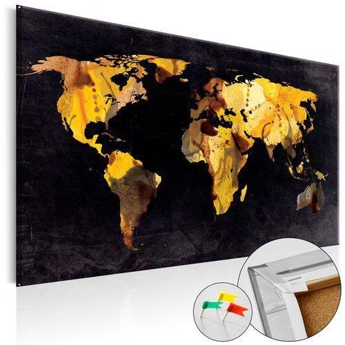 Artgeist Obraz na korku - a gdyby świat był pustynią... [mapa korkowa]