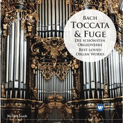 BACH: TOCCATA & FUGE DIE SCHÖNSTEN ORGELWERKE / BEST-LOVED ORGAN WORKS - Jacob (Płyta CD), 6156682