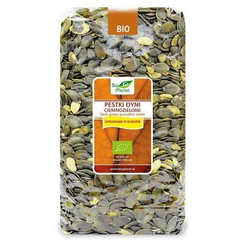 Pestki dyni ciemnozielone (uprawiane w europie) bio 1 kg - bio planet marki Bio planet - seria brązowa (orzechy i pestki)