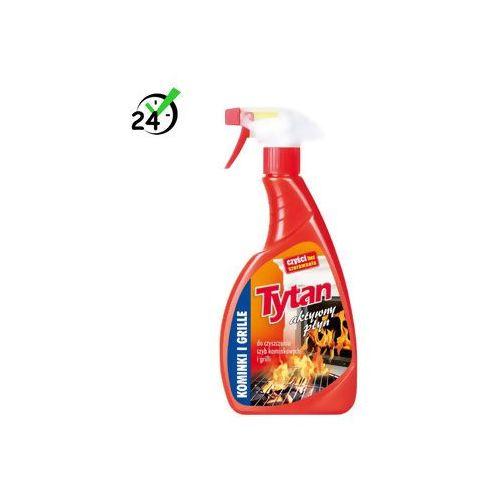 Tytan aktywny płyn do czyszczenia szyb kominkowych i grillów (500g) #ZWROT 30DNI #GWARANCJA D2D #KARTA 0ZŁ #POBRANIE 0ZŁ #LEASING #RATY 0% #WEJDŹ I KUP NAJTANIEJ