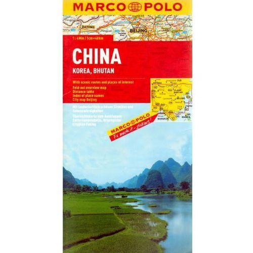 Chiny mapa 1:4 000 000 Marco Polo, praca zbiorowa