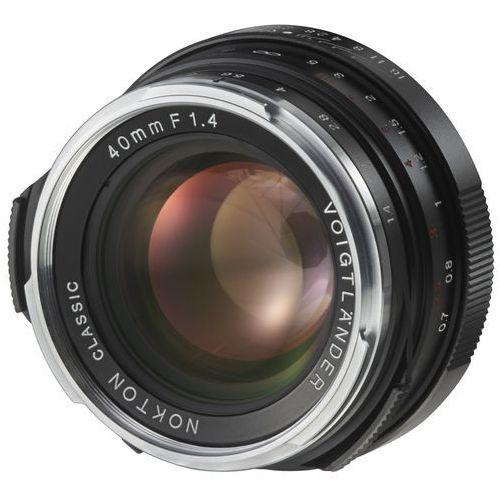 Voigtlander Obiektyw 40 mm f/1.4 nokton classic mc (leica m) + darmowy transport! (4002451194198)