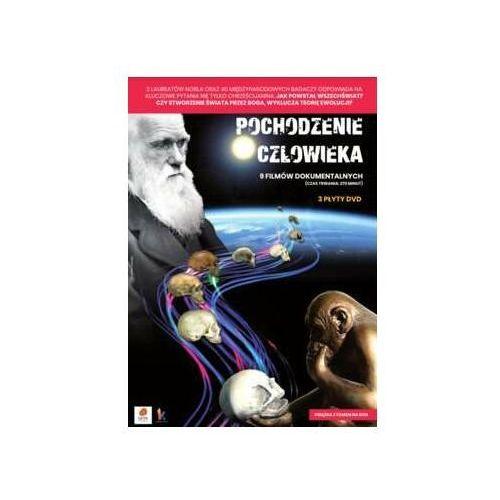Pochodzenie człowieka (3 płyty dvd) marki Praca zbiorowa