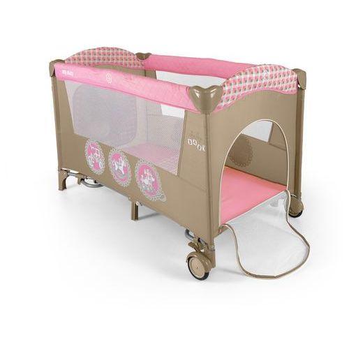 MillyMally Łóżeczko Mirage - Pink - produkt dostępny w Mall.pl