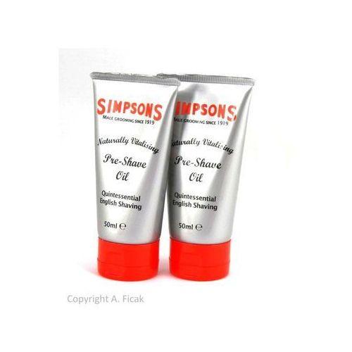 Simpson pre-shave oil 50ml marki Simpsons