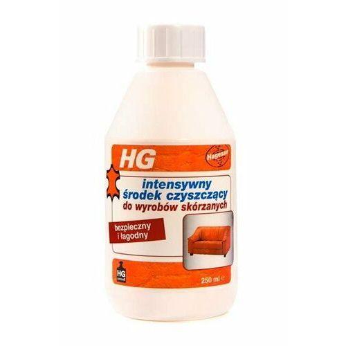 środek czyszczący do wyrobów skórzanych intensywny marki Hg