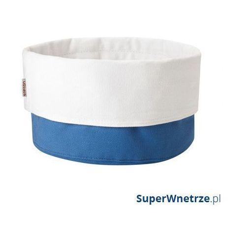 Stelton Torba na pieczywo classic biało-niebieska