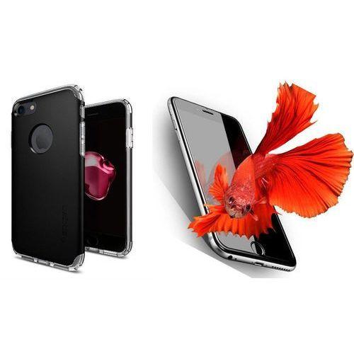 Zestaw   spigen sgp neo hybrid armor black   obudowa + szkło ochronne perfect glass dla modelu apple iphone 7 marki Sgp - spigen / perfect glass