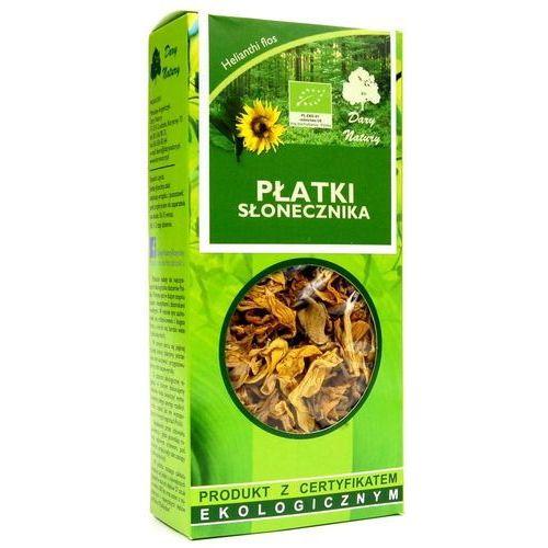 Dary natury Płatki słonecznika herbatka ekologiczna 25 g