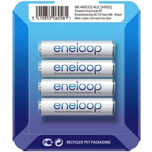 Panasonic 4 x eneloop r03/aaa 800mah bk-4mcce (sliding pack) (5410853060581)