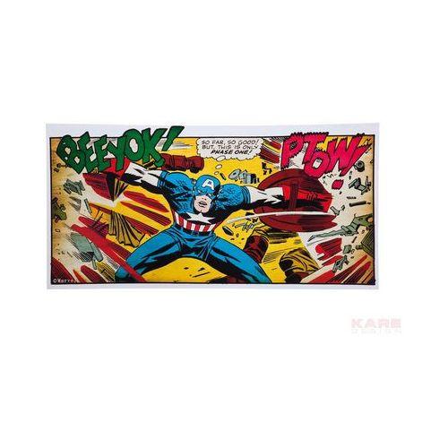 Kare Design Captain America Marvel Obraz 70x140 cm - 35742 (obraz)