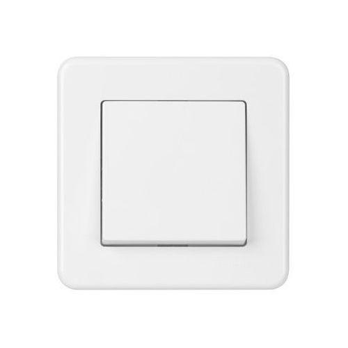 Schneider electric Przycisk leona biały