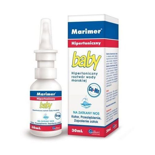 Spray MARIMER Baby hipertoniczny spray 30ml
