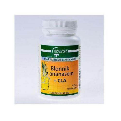 Blonnik z ananasem + CLA 100 tabletek - tabletki Tabletkina odchudzanie