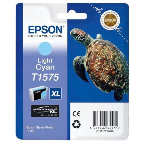 Epson oryginalny ink C13T15754010, light cyan, 25,9ml, Epson Stylus Photo R3000 (8715946479477)