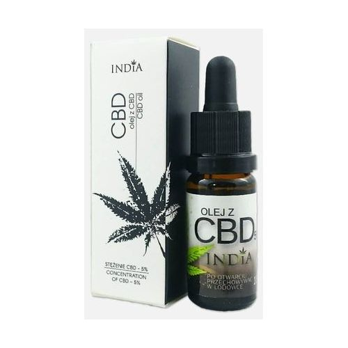 Olej z CBD 5% 10ml - India Cosmetics