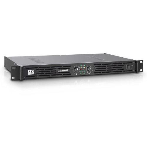 Ld systems xs 400 końcówka mocy pa klasy d, 2 x 200 w, 4ohm