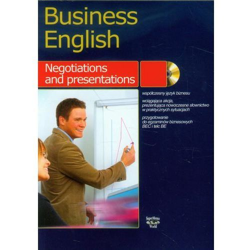 Business english Negotiations and presentation, oprawa miękka
