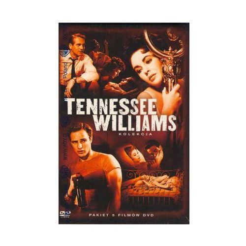 John huston, elia kazan, richard brooks Tennessee williams: kolekcja - 5 filmów (6 dvd) - richard brooks, john huston, elia kazan