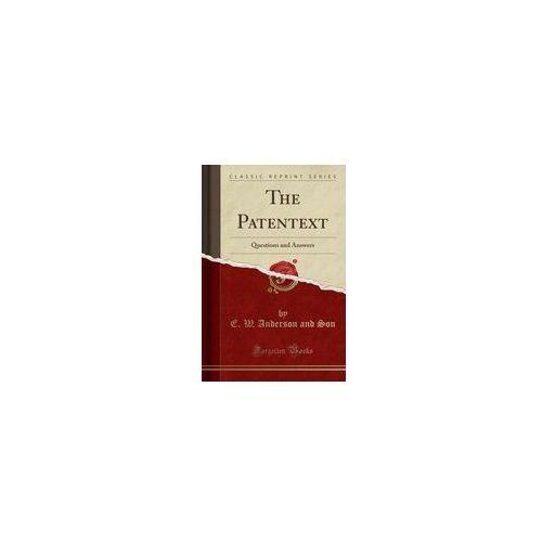 The Patentext, Son E. W. Anderson And