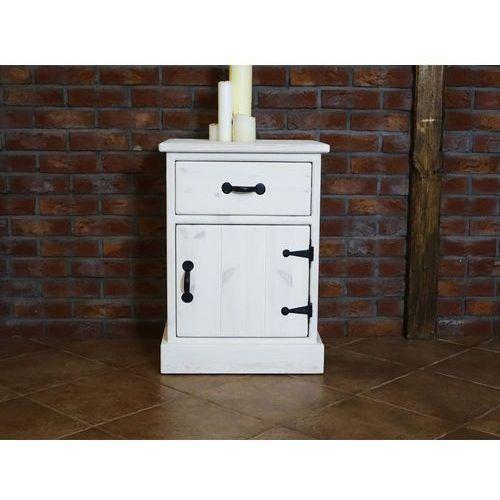 Szafka nocna sosnowa Rustyk 4, produkt marki SEART furniture
